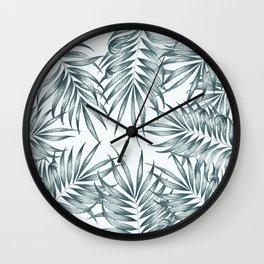 Palm Leaves #society6 #buyart Wall Clock