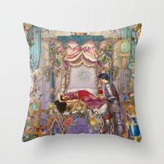 Sleeping Beauty Throw Pillow