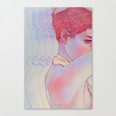Untitled psychedelic girl drawing Canvas Print