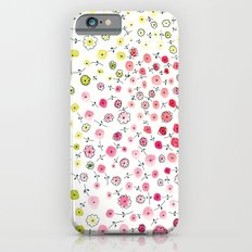 Tiny flowers iPhone 6s Slim Case