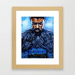 Black Panther Merchandise Framed Art Print
