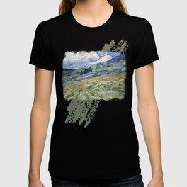 Vincent van Gogh Landscape Saint-Rémy T-shirt