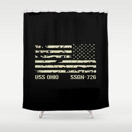 USS Ohio Shower Curtain