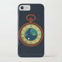 pocket iPhone & iPod Cases featuring Cosmic Pocket Watch by badOdds