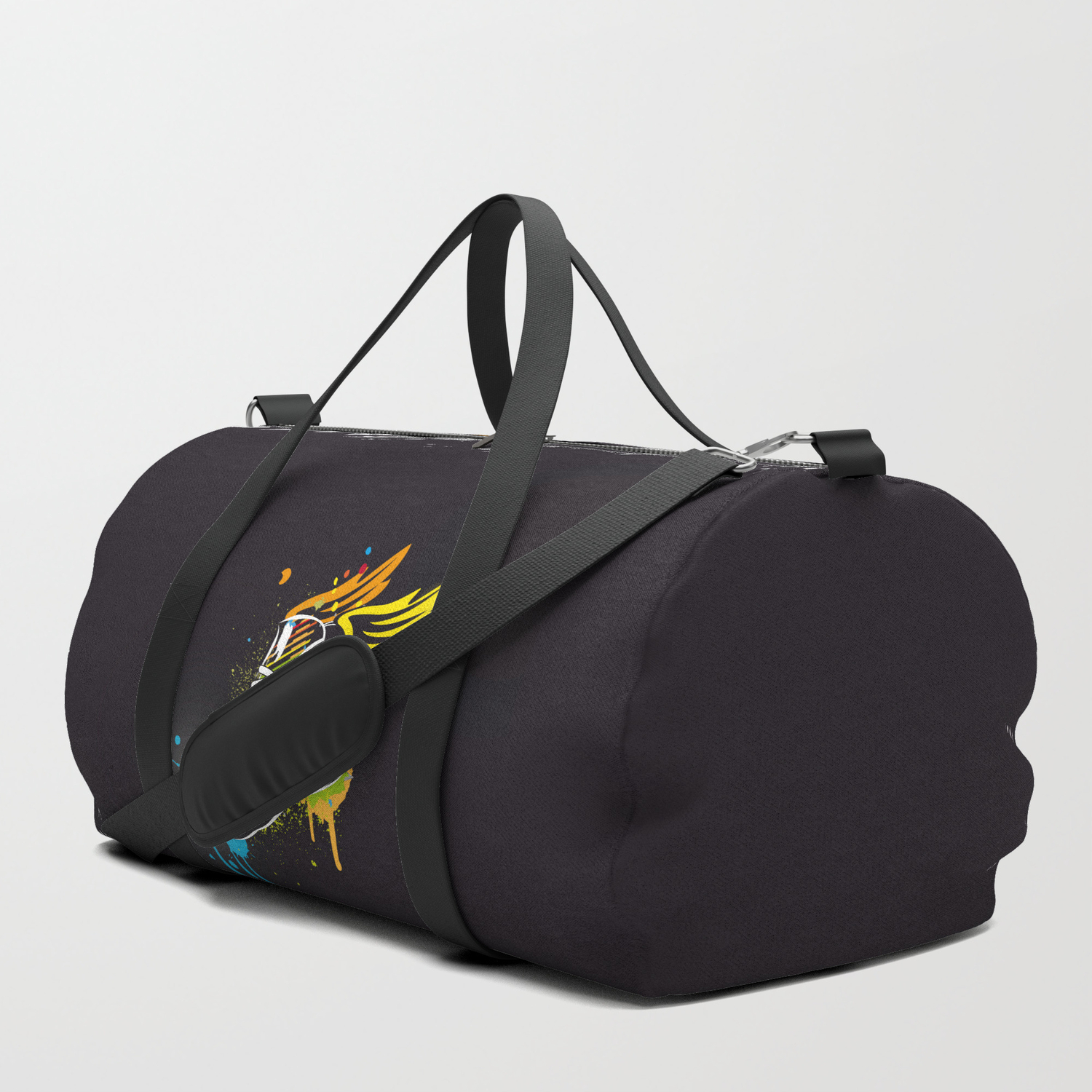 cc0a4d5859be cool sneaker graffiti with wings Duffle Bag by namosh