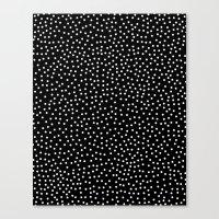 dots Canvas Prints featuring Dots by Priscila Peress