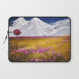When Flowers Bloom And The Mountains Froze Laptop Sleeve