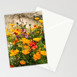 California Poppy Stationery Cards