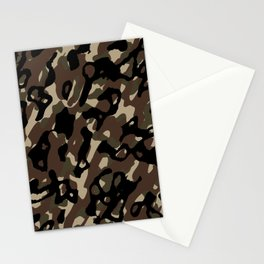 Camouflage Abstract Stationery Cards