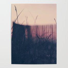 beach sunset II Poster