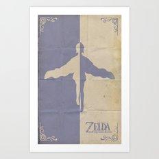 The Legend of Zelda: Skyward Sword Art Print