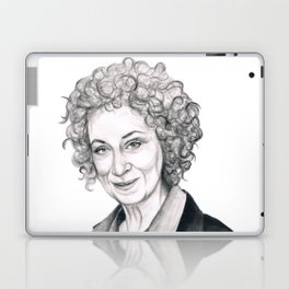 Margaret Atwood Laptop & iPad Skin