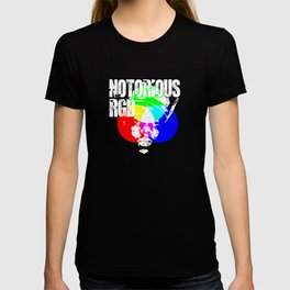 Funny Graphic Design Unisex Shirt Notorious RGB T-shirt