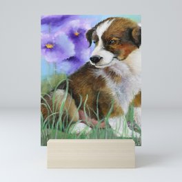 Baby Pictures Sheltie Puppy Mini Art Print