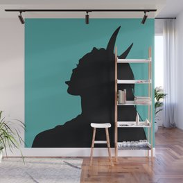 Devil's girl - Jade Edition Wall Mural
