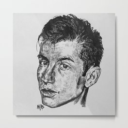 Alex Turner. Metal Print