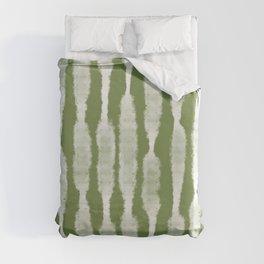 Tie Dye no. 2 in Green  Duvet Cover
