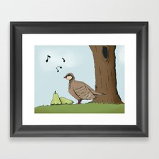 Partridge Framed Art Print