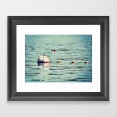 Buoys Framed Art Print
