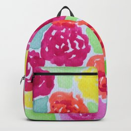 Precious Bouquet of Flowers Backpack