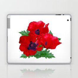 Red oriental poppies Laptop & iPad Skin