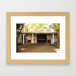 Hidden Billards Framed Art Print