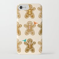 ginger iPhone & iPod Cases featuring Ginger by Kakel
