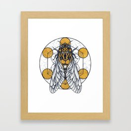 Cicada Framed Art Print