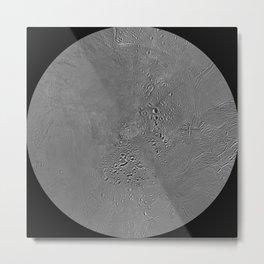 Enceladus (moon) North Pole Metal Print