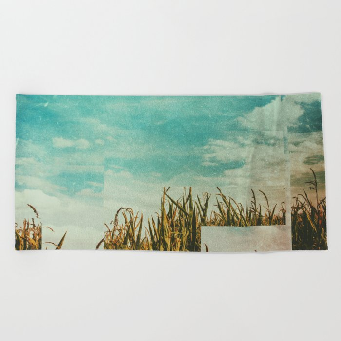 Fractions A28 Beach Towel