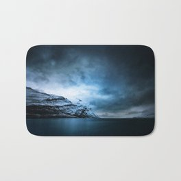 The Arctic - Storm Over Still Water Bath Mat