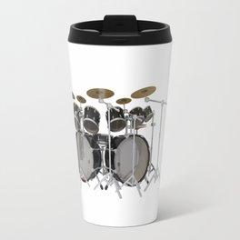 Black Drum Kit Travel Mug