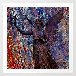 Pending Victory Goddess Victoria Art Print