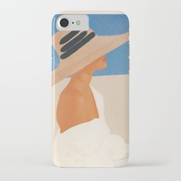 Summer Hat iPhone Case