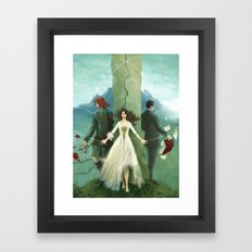 Both Sides Now Framed Art Print