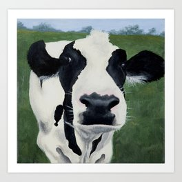 Betsy the Cow Art Print