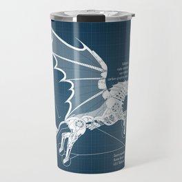 Steampunk Pegasus Travel Mug