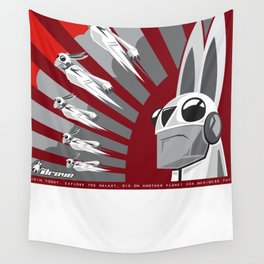 The Drove Propaganda  Wall Tapestry