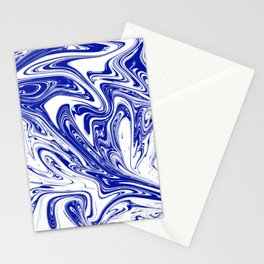 Marble,liquified graphic effect decor Stationery Cards
