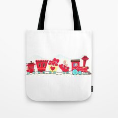 Vintage Valentine Day Card Inspired - Love, Romance, Romatic, Red, Hearts, Cherub, Angels Tote Bag