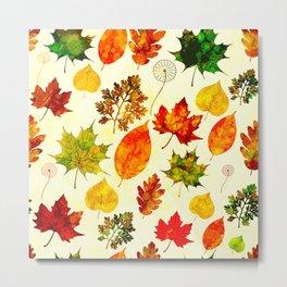 Abstract Seasons Metal Print