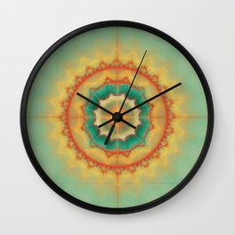 Happyness - Mandala Wall Clock