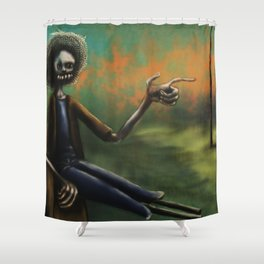 The way Shower Curtain