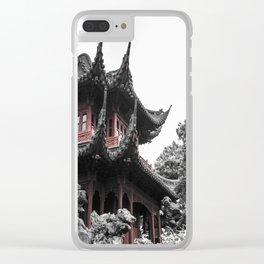 Shanghai culture Clear iPhone Case