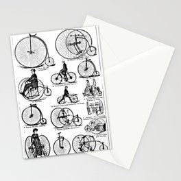 Velocipedes Stationery Cards