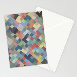 Geometric No. 26 earth mosaic Stationery Cards