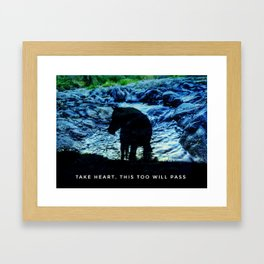 This Too Will Pass Framed Art Print