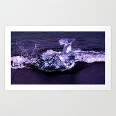 ice wave breaker Art Print