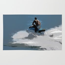 Making Waves - Jet Skier Rug
