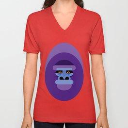 Gorilla gorilla Unisex V-Neck